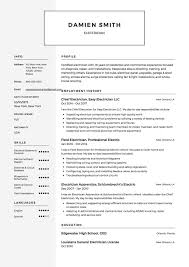 Free Electrician Resume Sample, Template, Example, CV ... Guide Electrician Resume Samples 12 Examples Pdf Unbelievable Sample Canada Electrical Apprentice Best Of Journeymen Electricians Example Livecareer 10 Apprentice Electrician Resume Examples Cover Letter The Samples Menu Or Click Here To Order Your New New Templates Visualcv Industrial And For 2019 Licensed Velvet Jobs