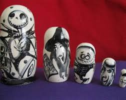 Nightmare Before Christmas Bath Toy Set by Nightmare Before Christmas Etsy