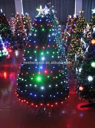 Black Fiber Optic Christmas Tree 7ft by 2 Ft 7 Ft Home Decoration Color Changing Fiber Optic Led Lights
