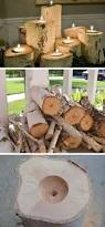 Simple Wood Projects That Sell Great by Best 25 Log Candle Holders Ideas On Pinterest Wood Candle