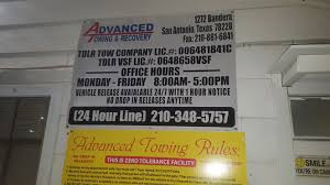 Advanced Towing And Recovery 1272 Bandera Rd, San Antonio, TX 78228 ... Tow Truck San Antonio Uncategorized Spectrum Pating Pantusa Towing Recovery Llc In Texas 78255 Towingcom Woman Hit Killed By Tow Truck Trying To Cross Street Catch Mission Wrecker Service Craigslist Rollback For Sale New Cars Upcoming 2019 20 Roadrunner Offers Light Medium And Heavyduty Towing Medium Duty Tx Rr Trucks Vehicles Quotes Insurance Companies Best Image Kusaboshicom Private Property Parking Enforcement