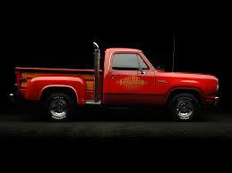 100 1978 Dodge Truck Adventurer Li039l Red Express Pickup Hot Rod