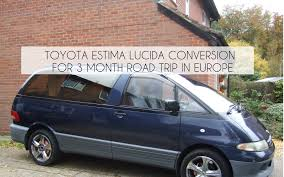 Our Home Made Campervan Toyota Lucida Conversion