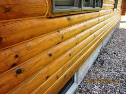 types of log home stains