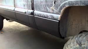 100 Rhino Liner Truck Bedliner On Lower Body Of Dodge Ram YouTube
