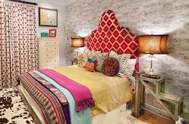 View In Gallery Restrained Use Of Bohemian Elements The Modern Bedroom