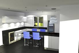 plan cuisine 3d etude cuisine orgeval yvelines