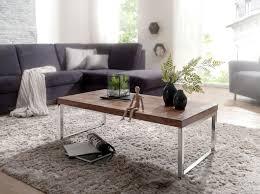 wohnling couchtisch guna massiv holz sheesham 120cm breit wohnzimmer tisch design dunkel braun landhaus stil beistelltisch