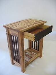 Wood End Table With Lamp Attached by Furniture End Tables With Drawers And Magazine Rack Coffee Side