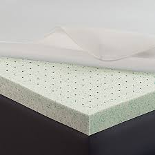 Therapedic Memory Gel™ 2 Inch Mattress Enhancer in White Bed