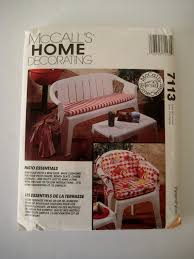 sewing patterns for outdoor furniture cushions