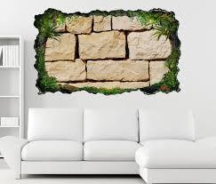 3d wandtattoo stein mauer steinmauer steine bims selbstklebend wandbild wandsticker wohnzimmer wand aufkleber 11o1087 wandtattoos und leinwandbilder