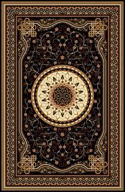 Oriental Persian Turkish Carpet Ready For Production Premium Vector