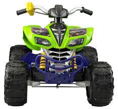 100 Teenage Mutant Ninja Turtle Monster Truck Power Wheels S Kawasaki KFX 12Volt Ride