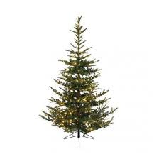 7 Ft White Pre Lit Christmas Tree by Pre Lit Christmas Trees Prelit Artificial Xmas Trees Uk