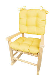 Child Rocking Chair Cushions - Cotton Duck Yellow - Made In USA ... Solid Wood Adirondack Style Porch Rocker Rocking Chair Handmade Pauduk Maloof Inspired By Gerspach Outdoor Fniture Gainans Flowers Billings Mt How To Paint A Wooden With Cedar Creek Woodshop Swing Patio Pnic Table Pin Neet On My House Home Decor Decor Chair Solid Wood Rocking In Kilmarnock East Ayrshire Arihome Amish Made Unfinished Chair801736 The Noble House Dark Gray Chair304035 Repose Mk I Edward Barnsley Workshop Campeachy Monticello Shop Vintage Homemade Doll 1958 Peter Pifer