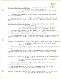 BOA Minutes - May 7, 1973