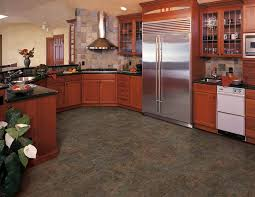 Slate Flooring For Kitchen Needing Cabinet Ideas The Floor I Just Installed Coretec