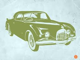 Classic Car Digital Art