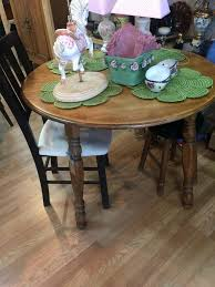 Ice Cream Table And Chairs Used Awesome Little Table Solid Wood Have ...