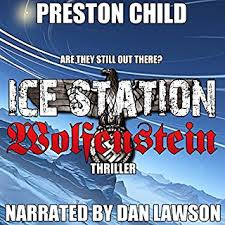 Ice Station Wolfenstein Audiobook Cover Art