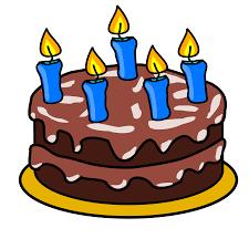 Free Birthday Cake Clip Art 1668