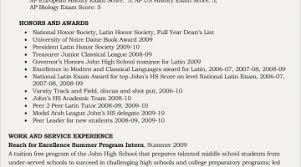 See Others Picture Of Boston College Resume Examples Inspirational Awesome Highschool For High School Seniors