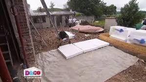 faire une dalle exterieur isoler la dalle en béton au sol d une véranda extérieure