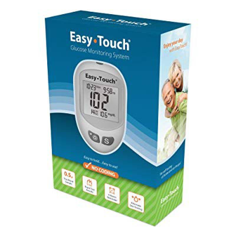 Easy Touch No Coding Glucose Monitoring System