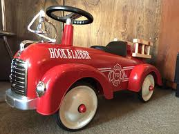 100 Radio Flyer Fire Truck USA Exhibition Goods As Good As New Aru Tabah G Fire Truck