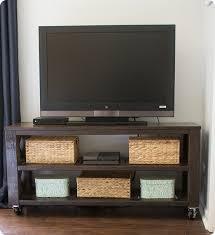 DIY Furniture Rustic Television Console