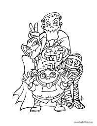 Halloween Coloring Pages Printable For Free Monsters Page Source Color By Number Christmas Full Size