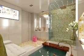 bisazza mosaik in gold mit weiß für die badarchitektur