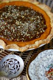 Pumpkin Pie With Pecan Praline Topping by Southern Sweet Potato Pie With Pecan Praline Topping