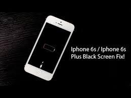 Iphone 6s Iphone 6s Plus Screen Went Black Wont Turn Fix