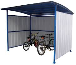 Rubbermaid Roughneck Shed Accessories by 21 Secure Bike Shed Ideas From Around The Globe