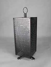 FixtureDisplays Spinning Fridge Magnets Souvenior Display Stand Metal Pegwall 15620