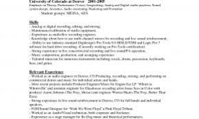 Related Posts For Resume Objective Examples Music Industry New Statements Weoinnovate