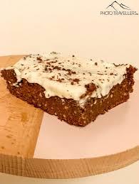 veganer karotten schokoladenkuchen gesund und wenig kalorien
