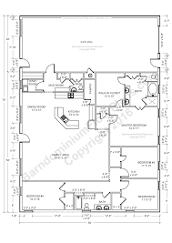 Barn With Living Quarters Floor Plans by Barndominium Floor Plans Barndominium Floor Plans 1 800 691