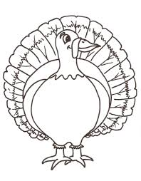 Turkey Color Pages Free Coloring