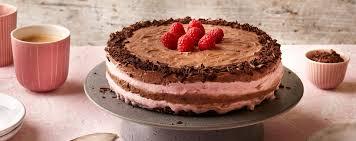 himbeer schoko torte