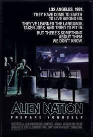 Alien Nation 1988 Authentic X Original Movie Poster Rolled James Caan Sci Fi U One Sheet