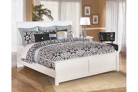 bostwick shoals king panel bed ashley furniture homestore