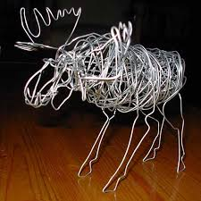Gallery For 2d Wire Sculpture Ideas