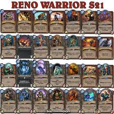 hearthstone kolentos reno warrior s21 hearthstone news pinterest
