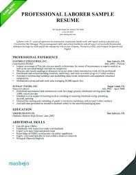 Resume Examples For Warehouse Worker Template