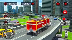 100 Fire Truck Games Free Rescue Simulator Driving School 2018