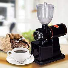 TECHTONGDA 110V Coffee Grinder Household Electric Bean Advanced Small Commercial