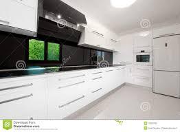 Moderne Weisse Küchen Bilder Schöne Moderne Weiße Küche Stockbild Bild Maschine